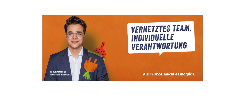 Event ALDI Suisse Informationsabende Lehrstelle Informatiker/-in 2021 header